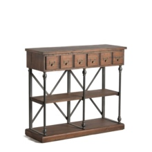 Mayco Antique Living Room <strong>Furniture</strong> Vintage Console Wood Craft Storage Cabinet