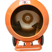 electric motor portable concrete mixer with plastic drum
