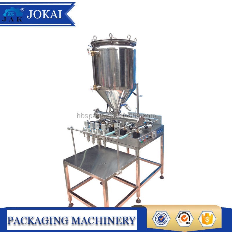Manual filling machine for fruit jam,spicy sauce,ketchup,tamato sauce, comestics