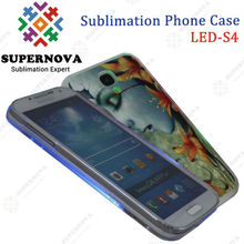 China Wholesale Sublimation LED Phone Case for Samsung Galaxy S4