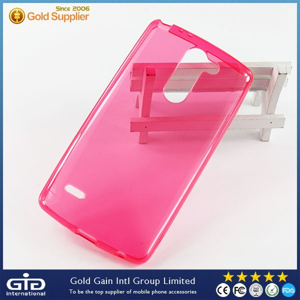Cheap Clear TPU Case For LG G3 Stylus D690N