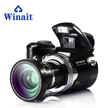 Winait 5.0 MP cmos sensor, max 16MP SLR digital camera DC-510T with wide-angle lens,8x Digital Zoom