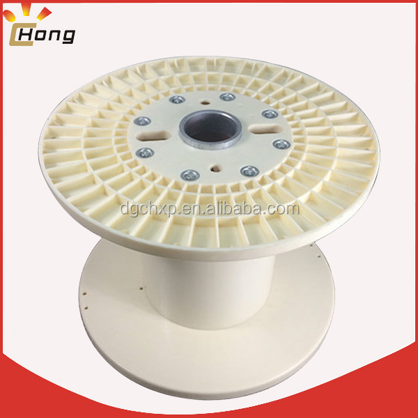 large loading plastic spool for electric cable wire