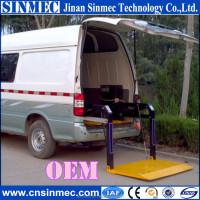 New style van wheelchair lift for disabled