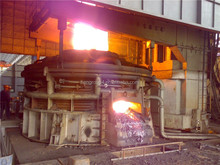 EAF electric arc furnace for silicon