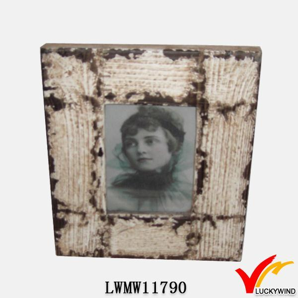 rustic decorative design paper distressed photo frame
