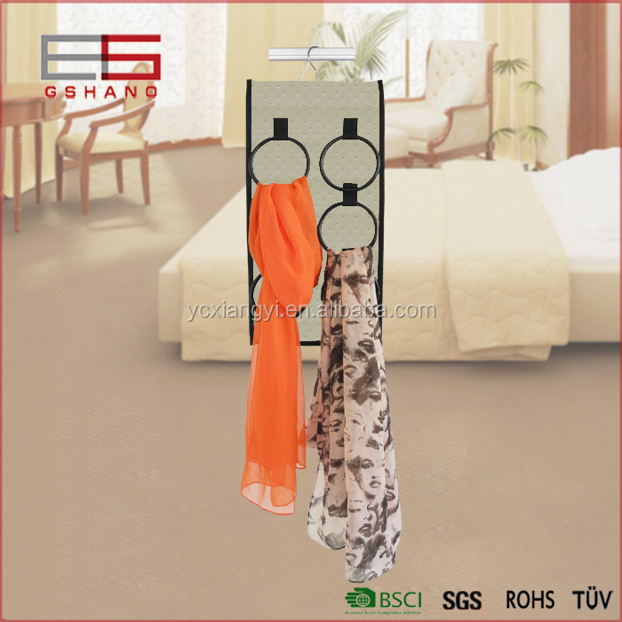 household hot sale fashion fabric wedding dresses with scarf organizer