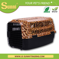 Hot selling plastic pet carrier cheap dog kennels