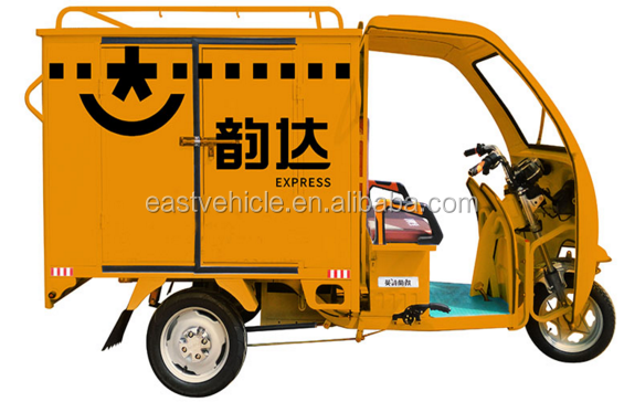 Electric Driving Type cargo tricycle with open cabin /cargobike/motorcycle