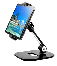 Tablet pc flexible holder stand adjustable and foldable