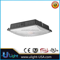Warehouse lighting fixture led canopy ceiling light for gas station and parking garage