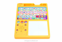 Promotional kids sound drawing board with electronic,erasable painting board for children educational toys
