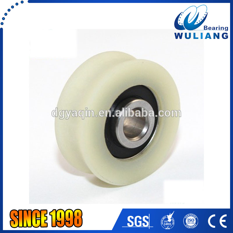 688 2RS small rubber wheel with bearings 6x26x11mm
