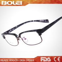 2015 Latest Fashion Eyeglass Frame TR90 Plastic Harf Frame Optics