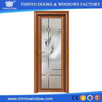 Hot Sale Waterproof Aluminium Bathroom Framed Sliding Glass Door