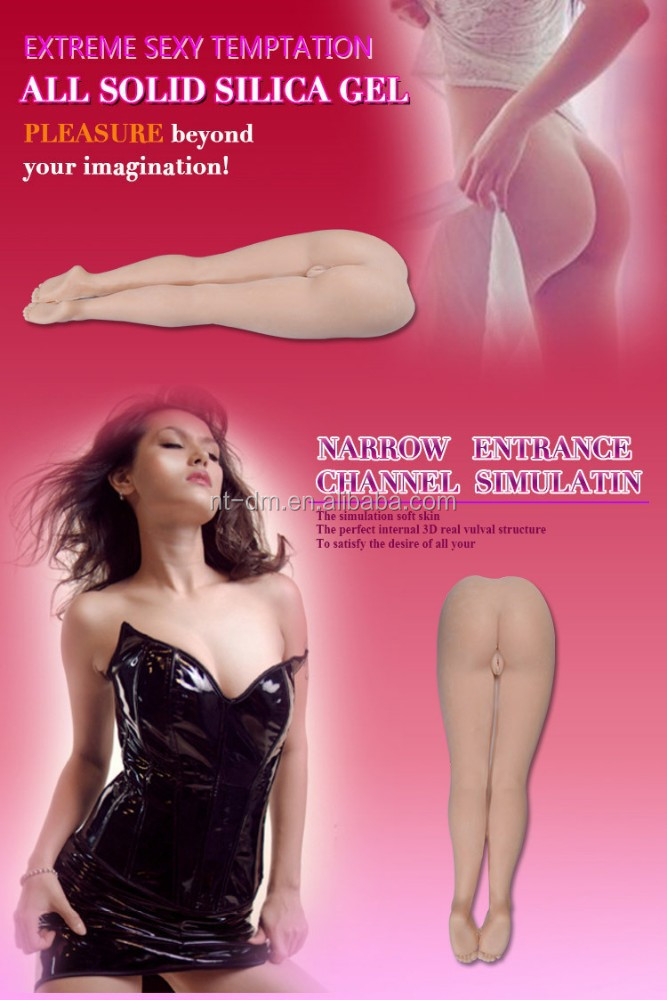 Real silicone sex dolls full feet sex toy legs with vagina real pussy and ass sex products