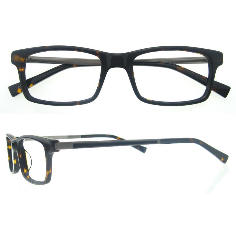 Designer Glasses Frames For Men Blue Acetate Optical Frames Matt ...