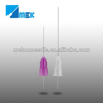disposable dental needle for single use