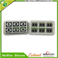 Wholesale Security silicone keypad for electronic lock ODM factory