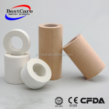 Skin color Medical adhesive tape Zinc Oxide Plaster with plastic cover