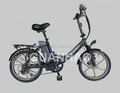 New style fat tire electric bike with aluminum foldable frame