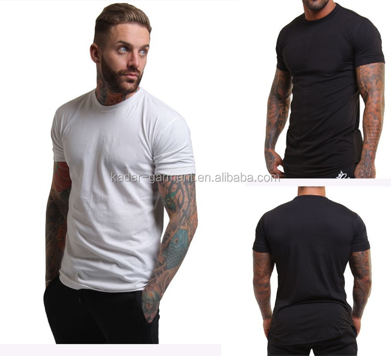 slim fit t shirt mens custom print fiteed t shirt gym buy slim fit t. Black Bedroom Furniture Sets. Home Design Ideas