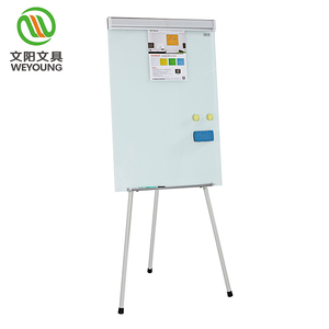 tempered glass magnetic whiteboard with stand