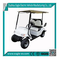 4 seat electric golf car, 2 rear passenger seat, EG2029KSF
