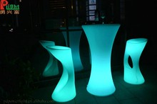 Night club used modern hotel outdoor furniture glowing led weding furniture bar counter
