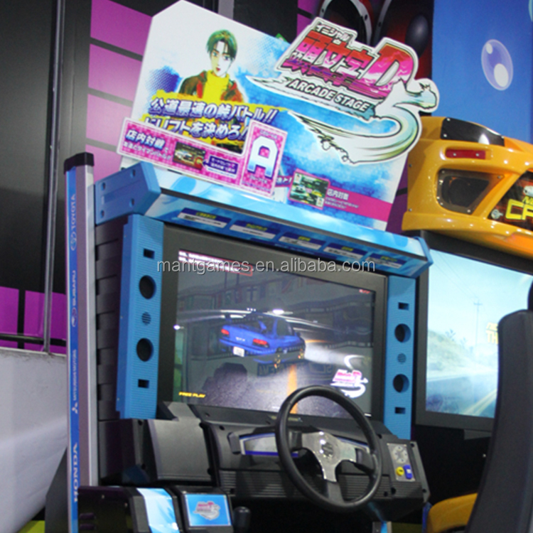 Mantong Newest version Initial D Arcade Stage 6 simulate arcade racing game machine