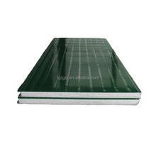hot sale lowes eps foam blocks roofing / Rock wool composite panels / aluminum foam panels