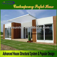 Economic and easy to install modern house prefab bungalow