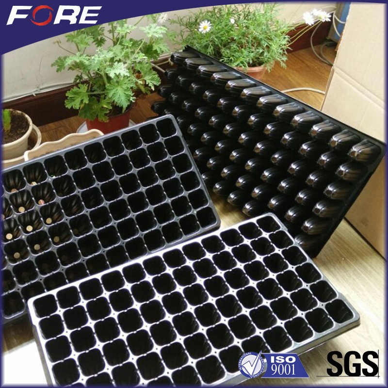 288 Cell Thermoforming Plastic Flower Nursery Seedling Tray For Seed Propagation