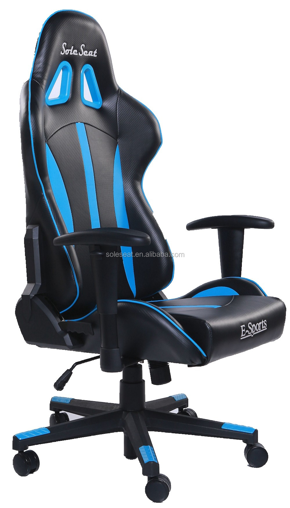 BLU&BLK classic leather Gaming Office Chair by China Online Shopping