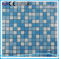 cheap building materials for swimming pool crystal glass mosaic tile