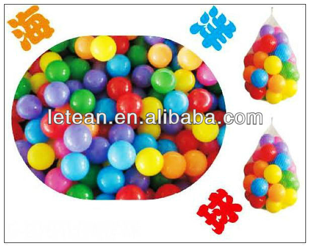 EXCELLENT QUALITY KIDS INDOOR PLAYGROUND PLASTIC OCEAN BALL LT-2164H