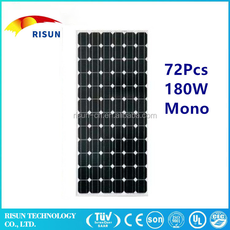 25 years warranty low pricehot sell 185w solar panel pv module 25 years warranty low price