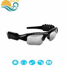 Hot Selling Top Quality Smart HD 1080P Polarized Wireless Bluetooth mp3 Sunglasses With Video Camera