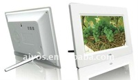 Basic function battery operated digital photo frame