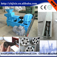 wood charcoal bar extruder/ factory directly sale automatic coal briquette press machine
