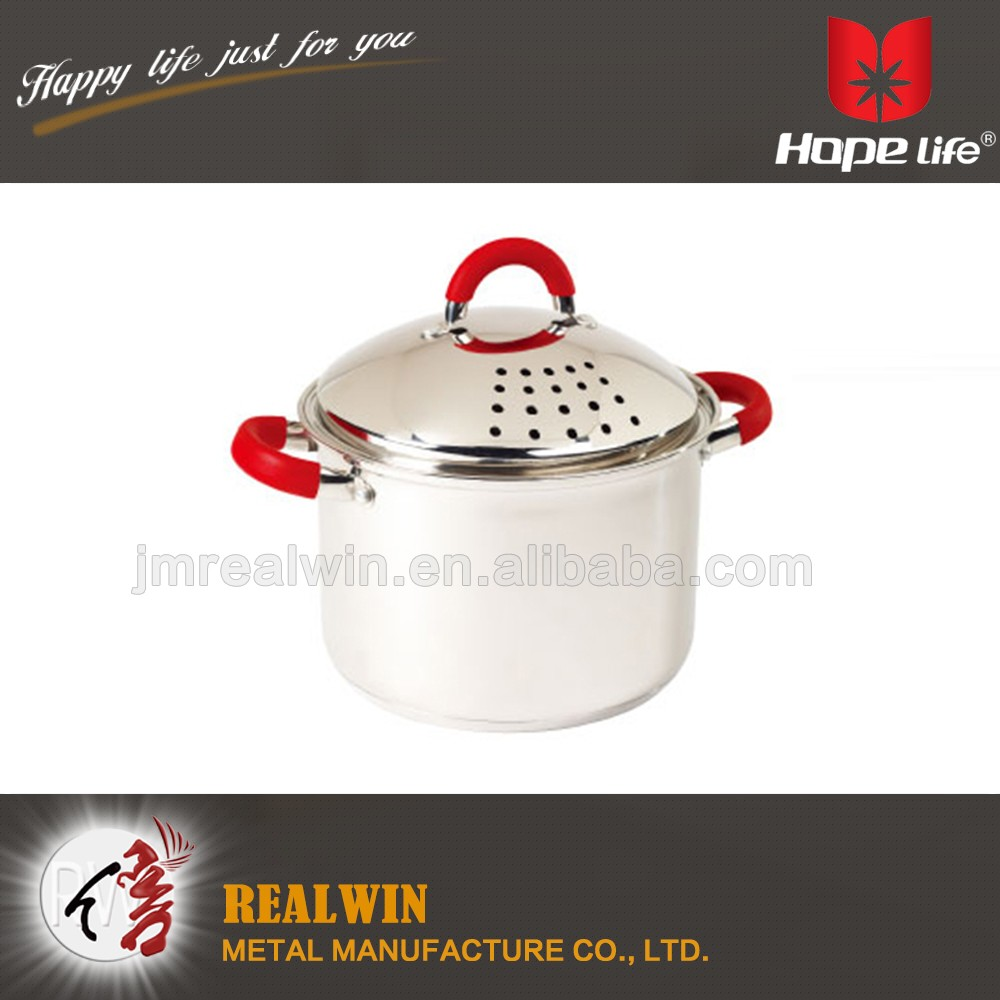 Wholesale Professional Stainless Steel kitchen stockpot & soup pot &Pasta Pot