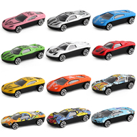 12 Color Alloy Car Die casting vehicle Children's model car toys Doodling Racing Car