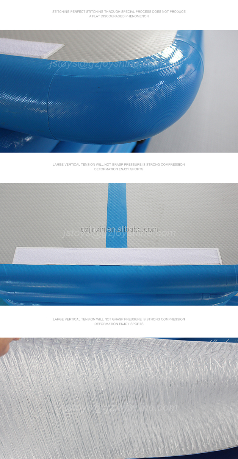 3m Blue Inflatable Cheerleading Sports Training Airtrack Set Home Use Air Floor Roller Board Set Cheap Price Air Track Gym