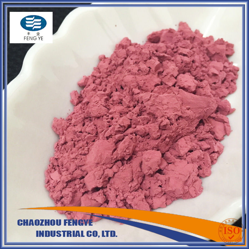 Ceramic Glaze Color Pink for Glaze Stain, Inclusion Stain, Body Stain, and third-firing Color
