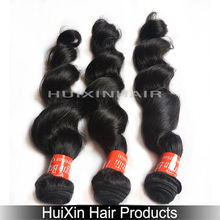 factory wholesale cheap AAAAA top quality loose wave brazilian human hair weaving