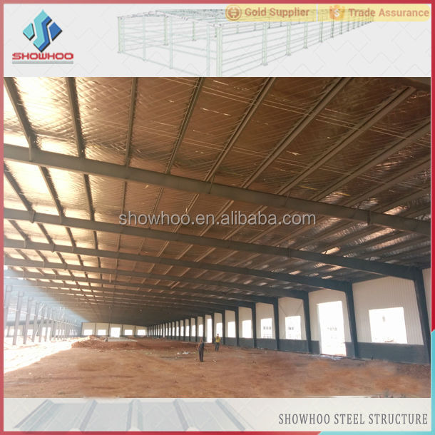 prefabricated hangar steel fabrication warehouse construction costs light steel frame house