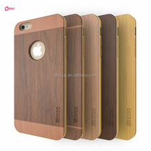 Rose wood case for iphone 6/6plus professional manufacture mobile phone case for iphone for samsung 100% natural wood