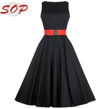 Elegant audrey hepburn style dresses for women China alibaba