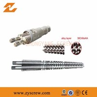 Good Quality Wholesale 2015 Bimetallic Twin Screw Barrel For Pvc