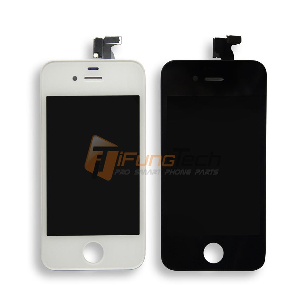 100% Tested lcd screen For iPhone 4S LCD Display Screen +Touch Digitizer Assembly